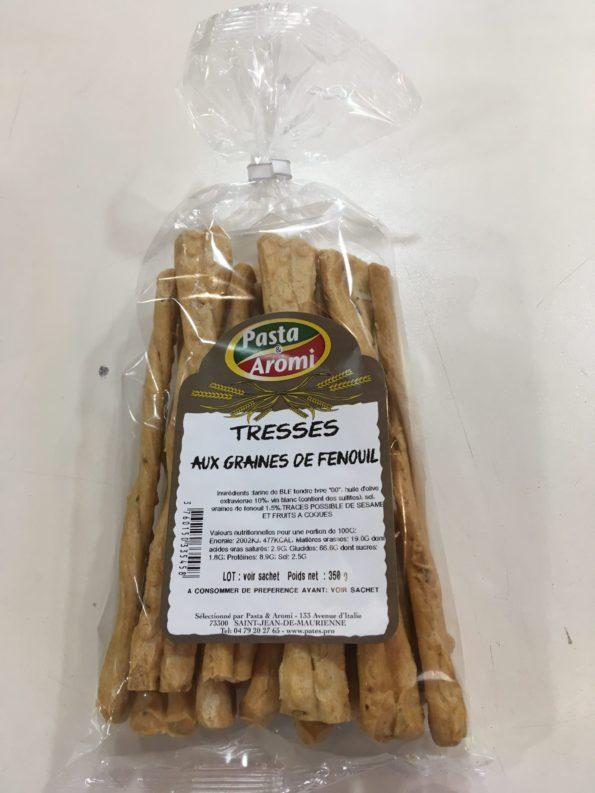 tresses aux graines de fenouil ou treccine ai semi di finocchio