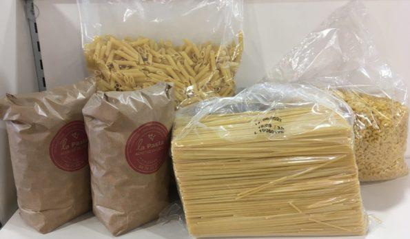assortiment de pâtes