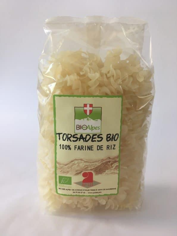 TORSADES 100% FARINE DE RIZ